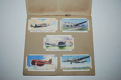 W.D & H.O Wills Cigarette Cards Complete Set  50 Cards Speed 1938