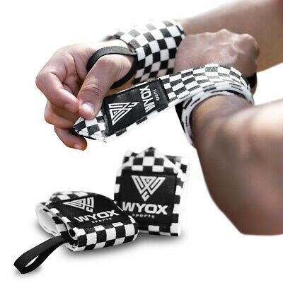 Wrist Wraps Elastic Cotton Bandage Support Protection Brace Glove Straps 3x18 in