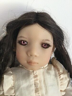 An Mei artist doll Annette himstedt come boxed with shipper