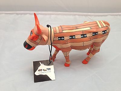 BNIB New Boxed COW PARADE TROJAN COW #16088 Collectible World Studios