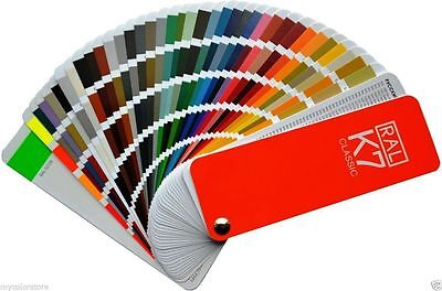 RAL K7 Classic Colour Chart | New RAL Fan style guide | Package of 10
