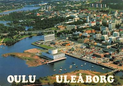 Vintage c1970's Postcard OULU ULEABORG Finland General View