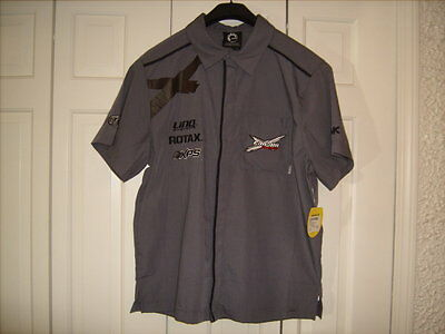 CAN-AM MENS TECHNICIAN SHIRT NEW with TAGS Gray Size Large 286308
