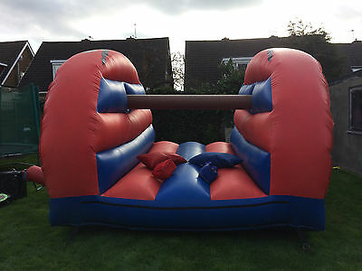 Inflatable Pillow Bash Joust With 1.5Hp Blower. Great Bouncy Castle Hire Addon
