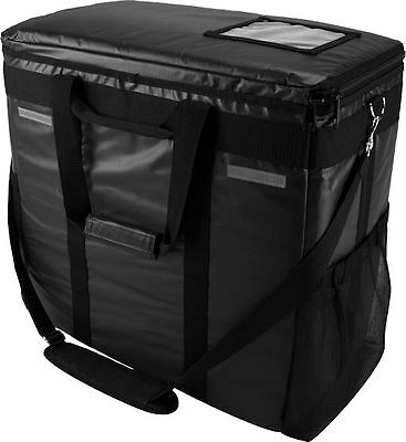 Case of 2 OvenHot Meals on Wheels Large Black Catering Food Delivery Bag NEW
