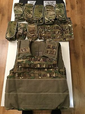 British Army Body Armour OSPREY MK4 Airsoft Paintball