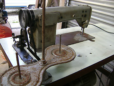 """Ancienne Machine A Coudre Industrielle """" Brother"""""""