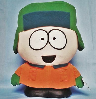 """South Park Kyle Plush Soft Toy with Tag - Large 15"""" / 38cm - 1999 Comedy Central"""
