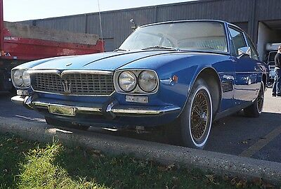 Maserati Mexico 1967 , ultra rare find, matchng numbers, project, Rare find!!