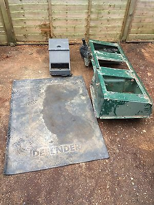 land rover defender Seat Box