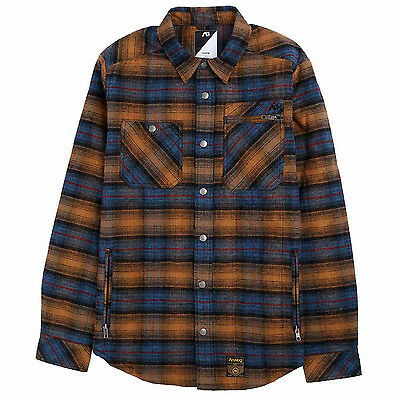 ANALOG by BURTON Mens 2017 Snowboard Snow Black BOWERY ATF QUILTED FLANNEL