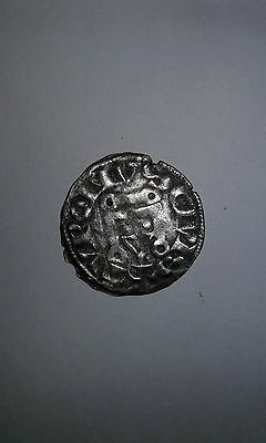 Silver Coin Medieval  France King Ludovic Ix, F/f