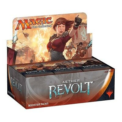MTG -Aether Revolt Booster Box - Magic The Gathering - Factory Sealed