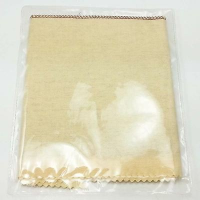 """12""""  x 12"""" Red Rouge Jewelry Polishing Buffing Cloth – Yellow"""