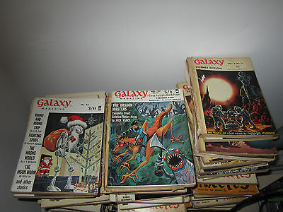 1950s Galaxy science magazine collection