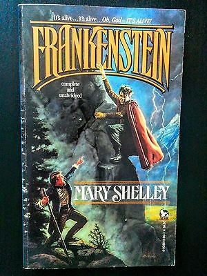 Frankenstein by Mary Shelly (Classic Gothic Horror Novel)
