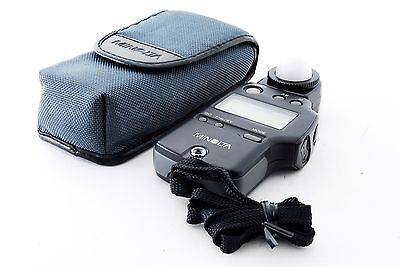 [Near Mint!] Minolta Auto Meter IVF Light Meter w/Case,Strap from Tokyo japan