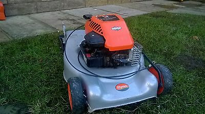 Flymo Quicksilver Petrol Lawn Mower Briggs & Stratton Spares Or Repairs