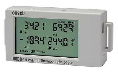 HOBO 4-Channel Thermocouple Data Logger, UX120-014M