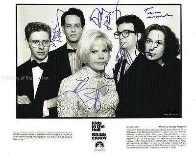 The Kids In The Hall - Photograph Signed With Co-Signers