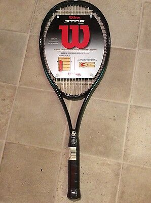 Wilson STING Comp 100 Green Tennis Racket Brand New