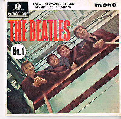 """THE BEATLES..................""""THE BEATLES No.1""""...........1963.......New Zealand"""