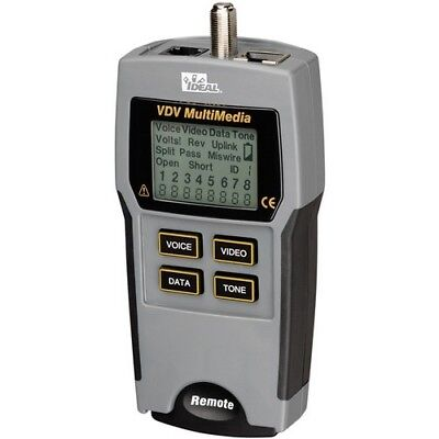 IDEAL(R) IDEAL 33-856 VDV Multimedia Cable Tester