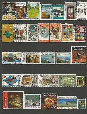 29 New Zealand Stamps used