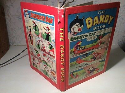 The Dandy Book 1959 Annual Vintage Dandy, Beano