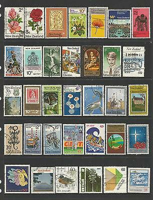 34 New Zealand Stamps used 1