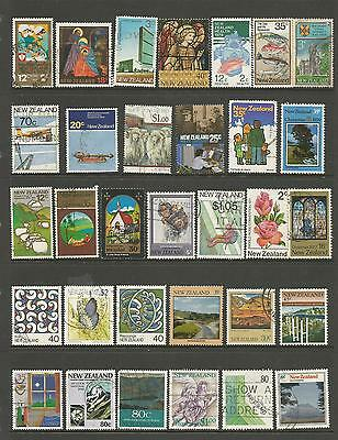 32 New Zealand Stamps used 1