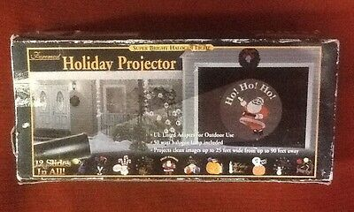 Foremost Holiday Projector Halogen Light - 12 Slides for All Outdoor Occasions