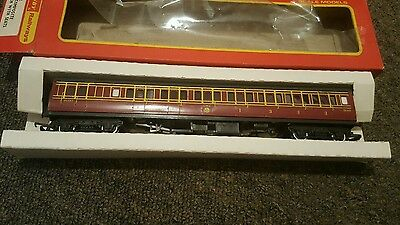 tri-ang hornby railway 00 scale r748 lms brake composite no 2640 caledoniancoach