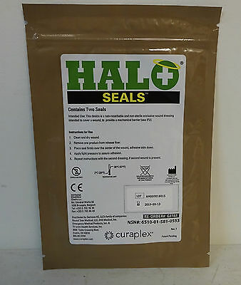 Curaplex Halo Seals Exp. 09/2019 New In Packaging