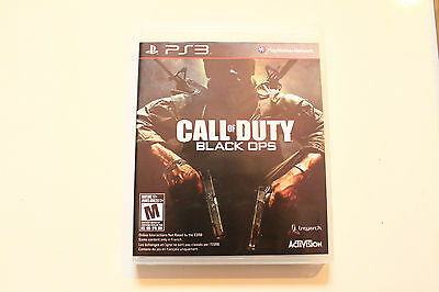 Call of Duty: Black Ops -- (Sony PlayStation 3, 2012)