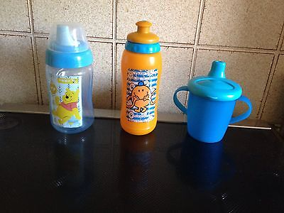 Winnie The Pooh Weaning / Training Sippee Cup bundle