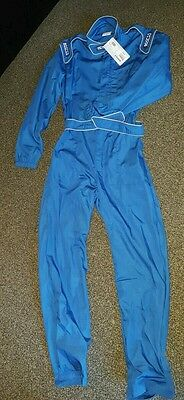 Sparco MX3 Indoor karting Race Suit or Mechanics Overalls Brand new Size M
