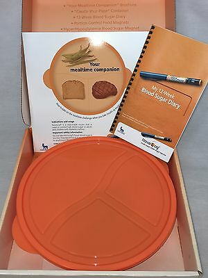 Novolog Your Mealtime Companion Lunch Dinner Dish Plate