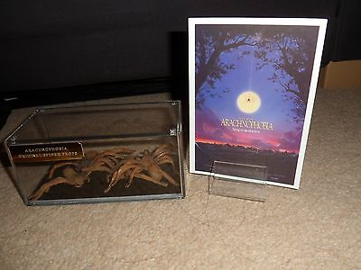 Four Original Film / Movie Prop Spiders  Arachnophobia V.rare !!!