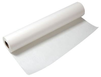 """Alvin 55W-L Lightweight White Tracing Paper Roll 36"""" X 50Yd"""