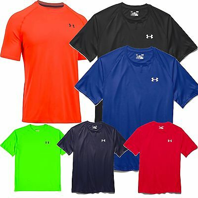 Under Armour 1228539 UA Men's Tech Short Sleeve T-Shirt Tee lots of colors