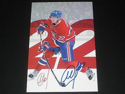 MIKHAIL SERGACHEV autographed '16/17 MONTREAL CANADIENS team issued card *new*