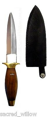 "9"" Wood Handled Athame Wicca Ritual Sabbat Altar Pagan Witch Knife Spell"