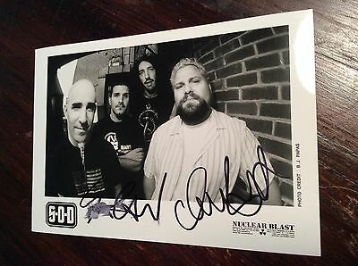 S.O.D. Anthrax Stormtroopers Of Death 80's 90's Thrash Metal Signed Autographed