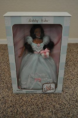 Barbie Birthday Wishes African American Barbie Doll Collector Edition 1999