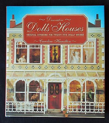 Decorative Dolls' Houses Book - Interiors for 25 Houses - HTF - FREE SHIP