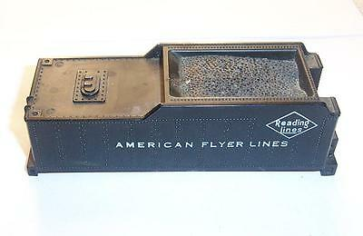 American Flyer S Gauge Parts Reading Lines Tender Plastic Body Shell Top lot 3
