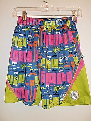 Flow Society Mustache Lax Lacrosse Performance Soccer Shorts Medium Youth