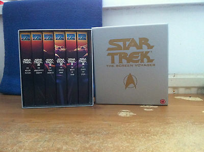 Star Trek: The Screen Voyages Vhs Tapes - Classic