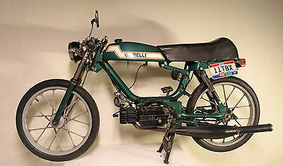 Vintage Garelli SSXL Moped w/ extras 1977 Super Sport Cafe Style Build